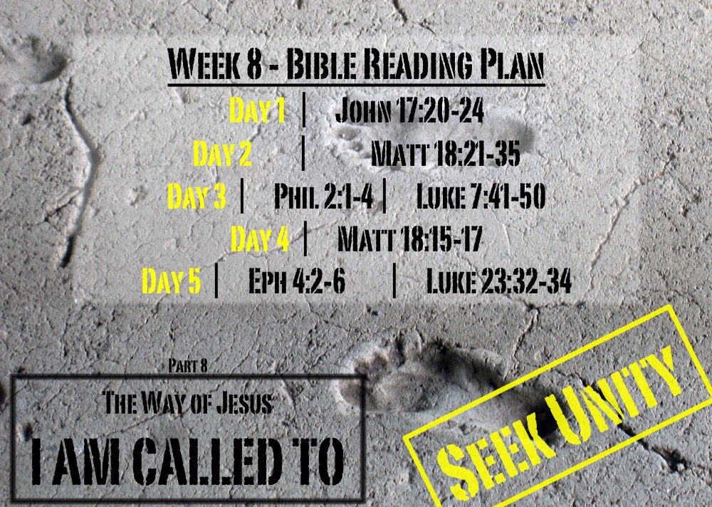 TheWayOfJesus-I am called to - Week 8 Reading Slide