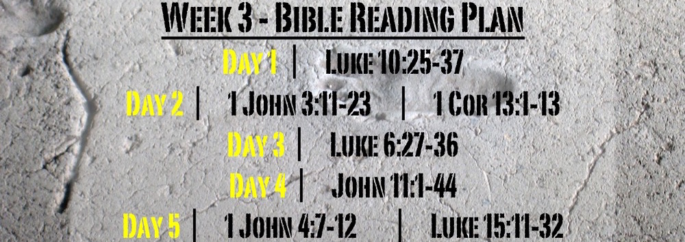TheWayOfJesus-I am called to - Week 3 Readings Only
