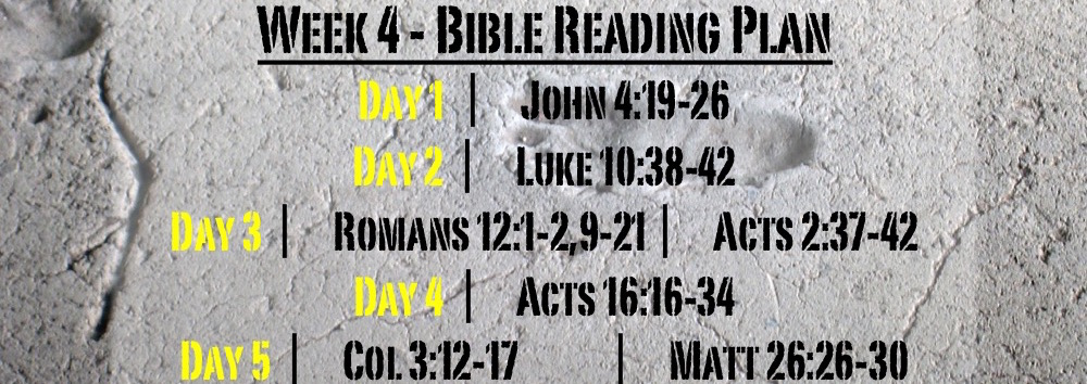 TheWayOfJesus-I am called to - Week 4 Readings Only