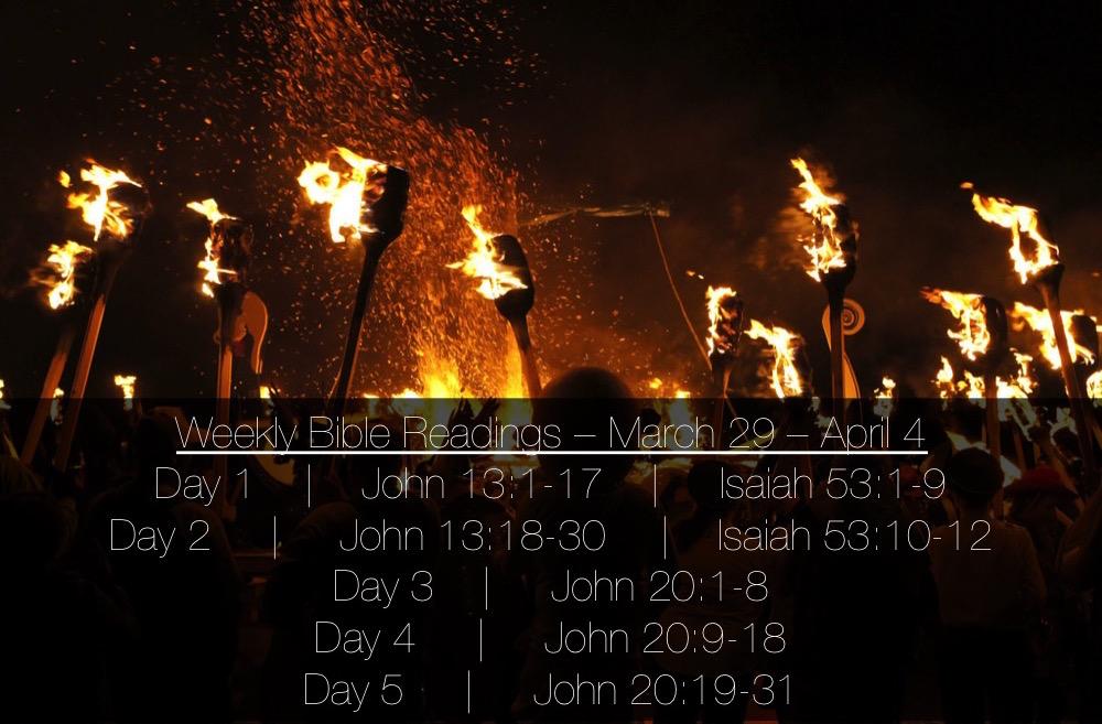 John 20 - Easter Reading Plan Slide