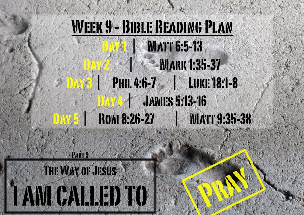 TheWayOfJesus-I am called to - Week 9 Reading Slide