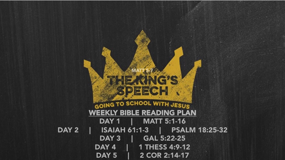 Matt 5.1-18 Reading Slide - The Kings Speech (part 1)