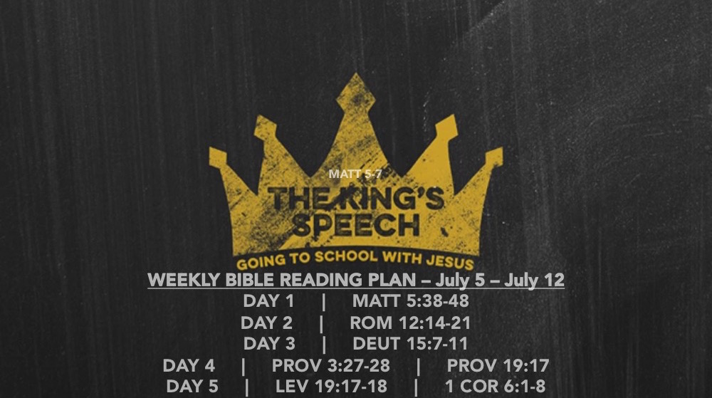 Matt 5.38-48 Reading Slide - The Kings Speech (part 3)