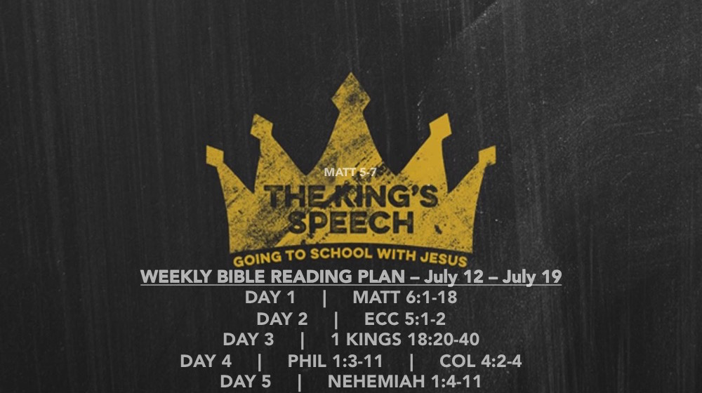 Matt 6.1-18 - Reading Slide - The Kings Speech (part 4)