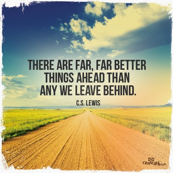 CS LEWIS - Far better ahead