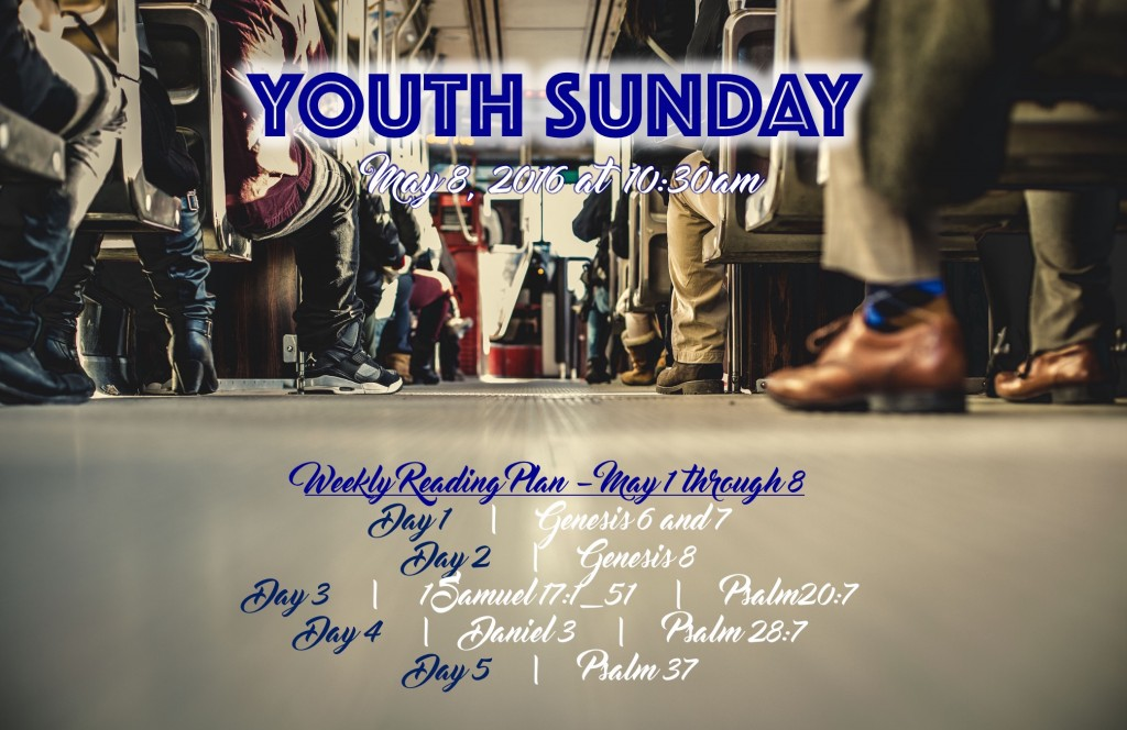 Youth Sunday 2016 Reading Slide
