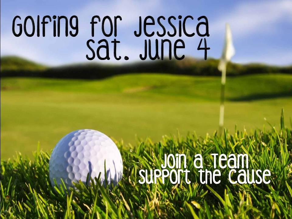 Golfing for Jessica