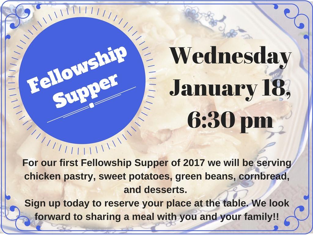 fellowship-supper
